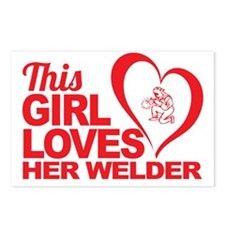 This Girl Loves Her Welde Postcards (Package of 8)
