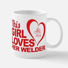 This Girl Loves Her Welder Mug