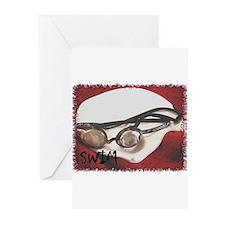 swim pic Greeting Cards (Pk of 10)