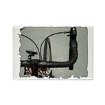 bike pic Rectangle Magnet (100 pack)