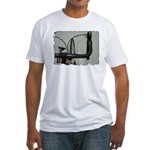 bike pic Fitted T-Shirt