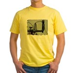 bike pic Yellow T-Shirt