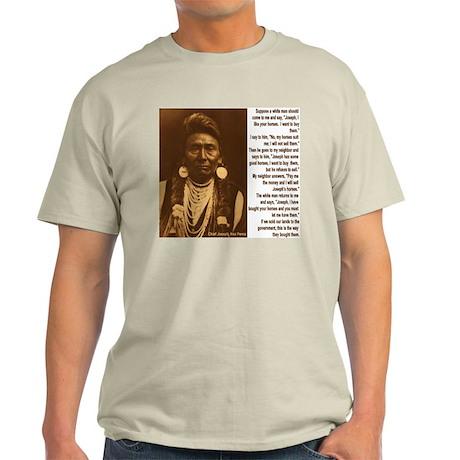"""""""More Words Of Wisdom"""" Light T-Shirt"""