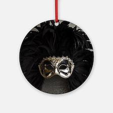 Carnival mask Ornament (Round)