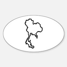 OPEN THAILAND OUTLINE Decal