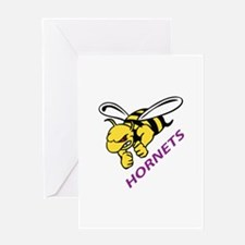 HORNETS Greeting Cards