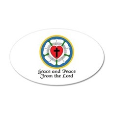 GRACE AND PEACE Wall Decal