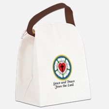 GRACE AND PEACE Canvas Lunch Bag