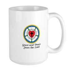 GRACE AND PEACE Mugs