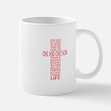 JOHN THREE SIXTEEN 1 Mugs