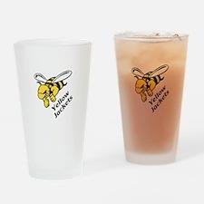 YELLOW JACKETS Drinking Glass