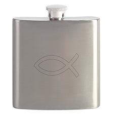 REV APP CHRISTIAN FISH M Flask