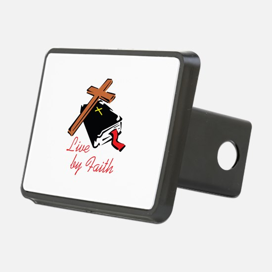 LIVE BY FAITH Hitch Cover