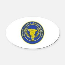 ARMY RESERVE FILLED Oval Car Magnet