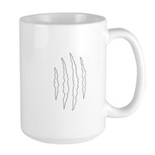 REVERSE APP CLAW MARKS S Mugs