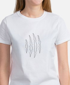 REVERSE APP CLAW MARKS S T-Shirt