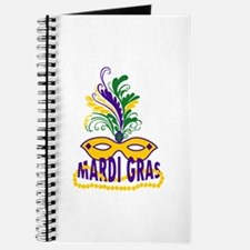 MARDI GRAS MASK AND BEADS Journal