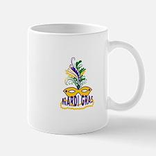 MARDI GRAS MASK AND BEADS Mugs