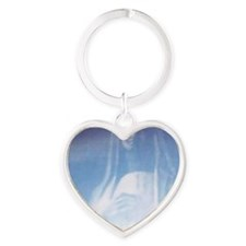 Madonna Heart Keychain
