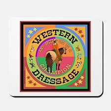Western Dressage Quarter Horse Mousepad