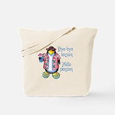 BYE BYE TENSION Tote Bag