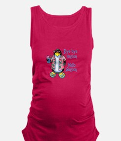 BYE BYE TENSION Maternity Tank Top