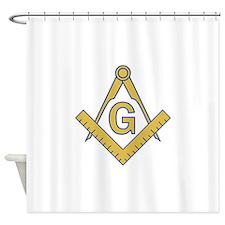 MASONIC EMBLEM Shower Curtain