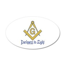 DARKNESS TO LIGHT Wall Decal