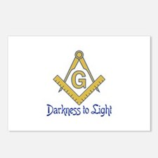 DARKNESS TO LIGHT Postcards (Package of 8)