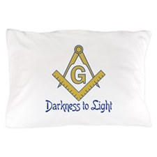 DARKNESS TO LIGHT Pillow Case