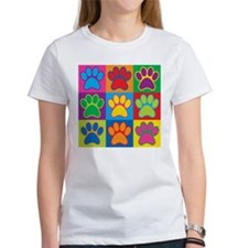Pop Art Paws T-Shirt