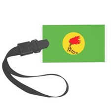 Zaire flag Luggage Tag