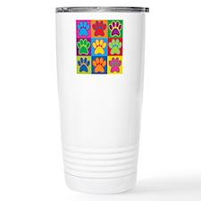Pop Art Paws Travel Mug