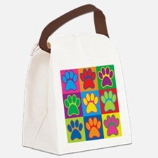 Pop Art Paws Canvas Lunch Bag