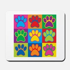 Pop Art Paws Mousepad