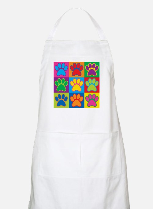 Pop Art Paws Apron