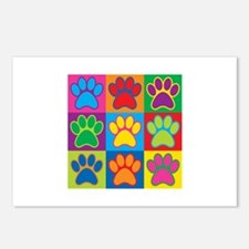 Pop Art Paws Postcards (Package of 8)