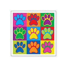 Pop Art Paws Sticker