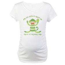 Sock Monkey 1st St. Pats Shirt