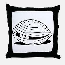 Clam Throw Pillow