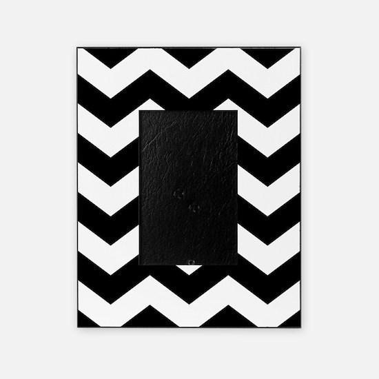 Black And White Chevron Picture Frame