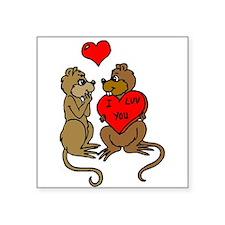 Chipmunks In Love Sticker