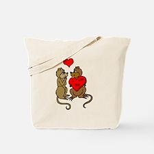 Chipmunks In Love Tote Bag