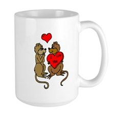 Chipmunks In Love Mugs