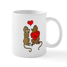 Chipmunks In Love Mugs