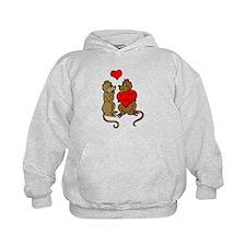 Chipmunks In Love Hoodie