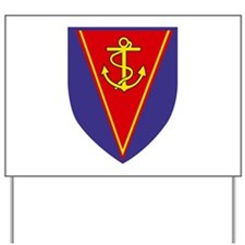 Amphibian Support Regiment, Royal Marine Yard Sign