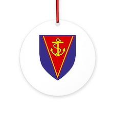 Amphibian Support Regiment, Royal Ornament (Round)