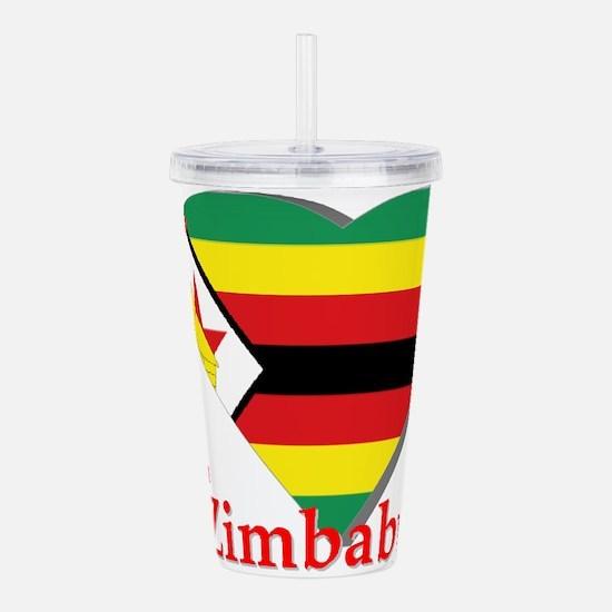 I love Zimbabwe Acrylic Double-wall Tumbler
