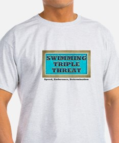 Swimming Triple Threat T-Shirt